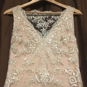 Vera Wang Cream Gown